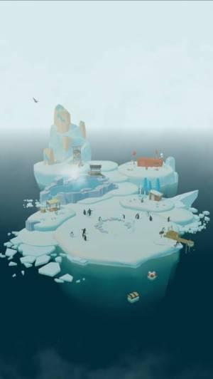 iPhone、iPadアプリ「ペンギンの島」のスクリーンショット 3枚目