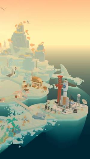 iPhone、iPadアプリ「ペンギンの島」のスクリーンショット 5枚目