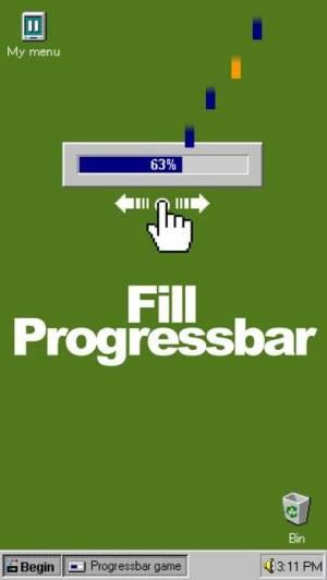 iPhone、iPadアプリ「ProgressBar95 - retro desktop」のスクリーンショット 2枚目