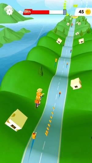 iPhone、iPadアプリ「Bikes Hill」のスクリーンショット 4枚目