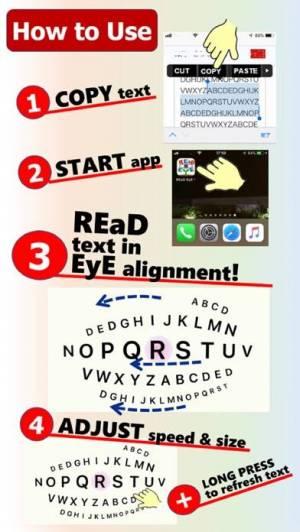 iPhone、iPadアプリ「REaD EyE」のスクリーンショット 4枚目
