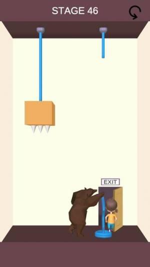 iPhone、iPadアプリ「なぞとき 脱出ゲーム - Rescue Cut」のスクリーンショット 2枚目
