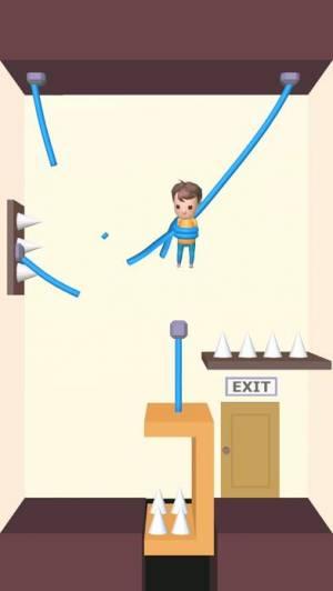 iPhone、iPadアプリ「Rescue Cut - なぞとき 脱出ゲーム」のスクリーンショット 2枚目