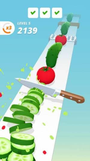 iPhone、iPadアプリ「Perfect Slices」のスクリーンショット 2枚目