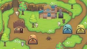 iPhone、iPadアプリ「ねこの森 - キャンプ場物語」のスクリーンショット 2枚目