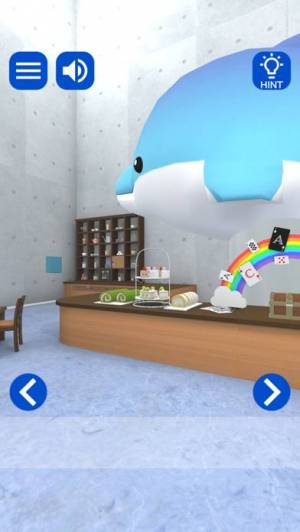 iPhone、iPadアプリ「脱出ゲーム Cafe:水のある風景」のスクリーンショット 5枚目