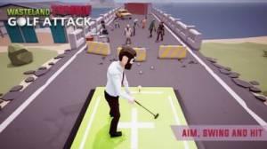 iPhone、iPadアプリ「ゾンビゴルフアタック- アクションとサバイバルゲーム」のスクリーンショット 2枚目