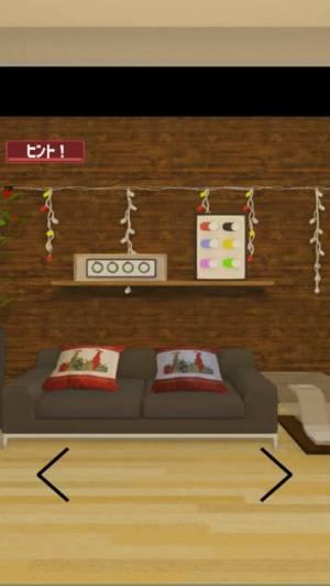 iPhone、iPadアプリ「脱出ゲームクリスマス「12月25日」MerryXmas」のスクリーンショット 3枚目