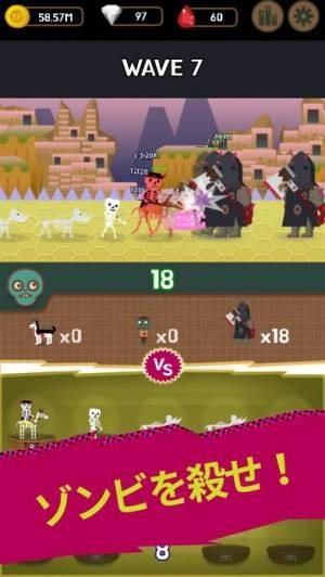 iPhone、iPadアプリ「ダンジョンモン : Idle Merge Monster」のスクリーンショット 2枚目