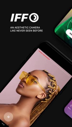 iPhone、iPadアプリ「IFF: Video Effect Camera」のスクリーンショット 1枚目