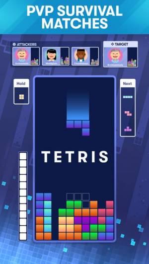 iPhone、iPadアプリ「Tetris®」のスクリーンショット 2枚目