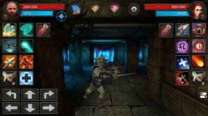 iPhone、iPadアプリ「Moonshades: Fantasy RPG Games」のスクリーンショット 2枚目