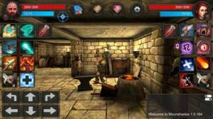 iPhone、iPadアプリ「Moonshades: Fantasy RPG Games」のスクリーンショット 3枚目