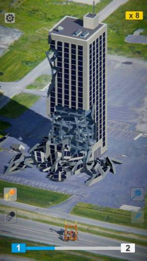 iPhone、iPadアプリ「Demolish!」のスクリーンショット 1枚目
