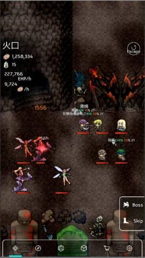 iPhone、iPadアプリ「バトル魂3 - 放置系RPG」のスクリーンショット 1枚目