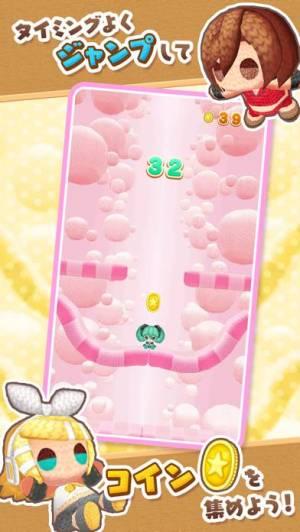 iPhone、iPadアプリ「初音ミク あみぐるジャンプ」のスクリーンショット 3枚目