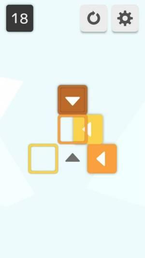 iPhone、iPadアプリ「Push - ブロックを押して動かすパズル」のスクリーンショット 3枚目