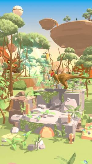 iPhone、iPadアプリ「Dino Island -恐竜の箱庭放置系3D育成ゲーム-」のスクリーンショット 4枚目