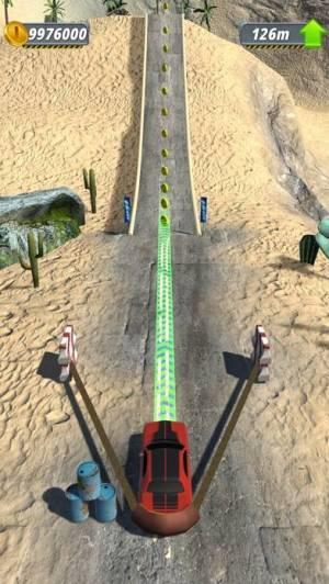 iPhone、iPadアプリ「Slingshot Stunt Driver」のスクリーンショット 3枚目