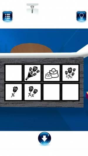 iPhone、iPadアプリ「脱出ゲーム BlueROOM -謎解き-」のスクリーンショット 3枚目