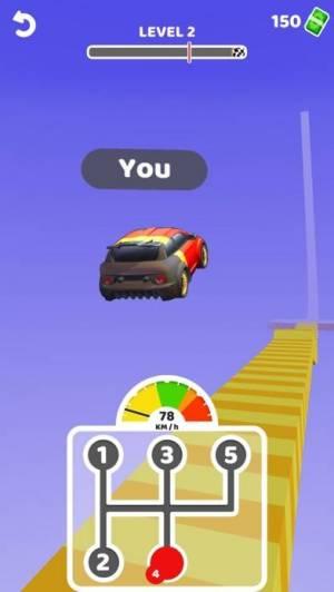 iPhone、iPadアプリ「Gear Race 3D」のスクリーンショット 3枚目