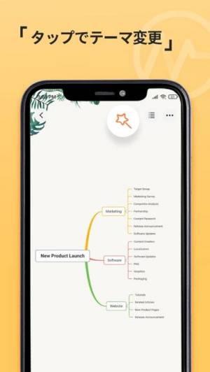 iPhone、iPadアプリ「GitMind Mind Map」のスクリーンショット 5枚目