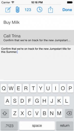 iPhone、iPadアプリ「To Do」のスクリーンショット 3枚目