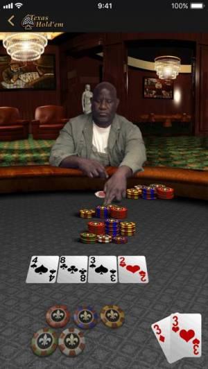 iPhone、iPadアプリ「Texas Hold'em」のスクリーンショット 3枚目