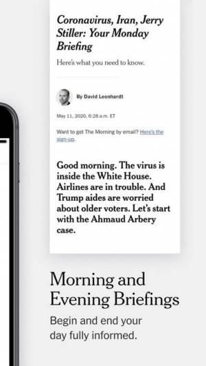 iPhone、iPadアプリ「The New York Times」のスクリーンショット 2枚目