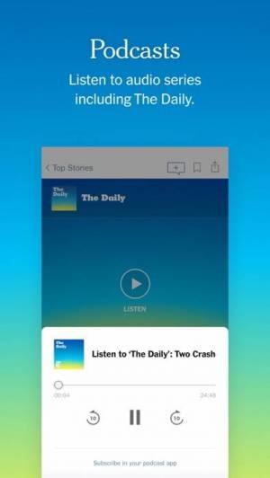 iPhone、iPadアプリ「The New York Times」のスクリーンショット 3枚目
