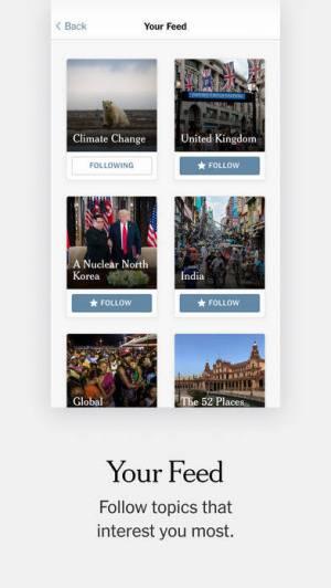 iPhone、iPadアプリ「The New York Times」のスクリーンショット 4枚目
