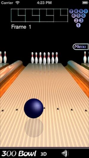 iPhone、iPadアプリ「300 Bowl」のスクリーンショット 4枚目