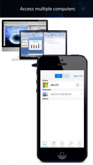 iPhone、iPadアプリ「iTeleport Remote Desktop」のスクリーンショット 4枚目