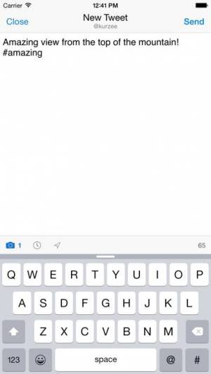 iPhone、iPadアプリ「Echofon for Twitter」のスクリーンショット 5枚目