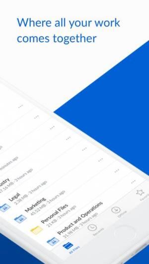 iPhone、iPadアプリ「Box — Cloud Content Management」のスクリーンショット 2枚目