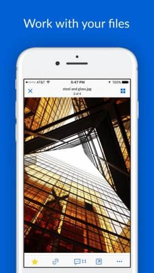 iPhone、iPadアプリ「Box — Cloud Content Management」のスクリーンショット 5枚目