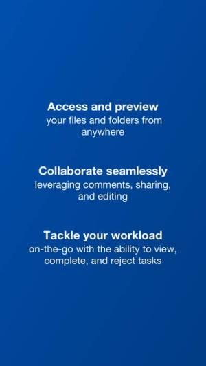 iPhone、iPadアプリ「Box - Cloud Content Management」のスクリーンショット 3枚目