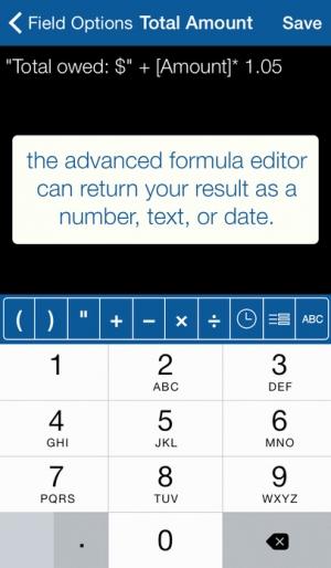 iPhone、iPadアプリ「タップフォーム オーガナイザーと安全なデータベース」のスクリーンショット 5枚目