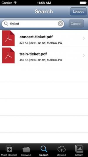 iPhone、iPadアプリ「Memopal」のスクリーンショット 5枚目