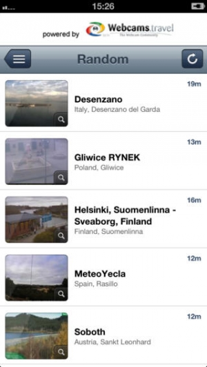 iPhone、iPadアプリ「WorldView by webcams.travel」のスクリーンショット 4枚目