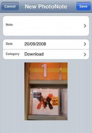 iPhone、iPadアプリ「PhotoNote Lite (Photo + Note)」のスクリーンショット 5枚目