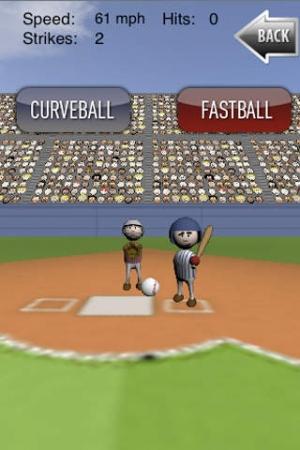 iPhone、iPadアプリ「iBaseball」のスクリーンショット 1枚目