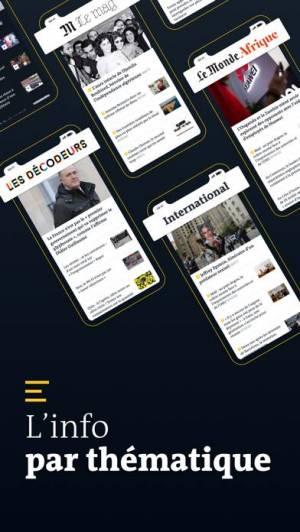 iPhone、iPadアプリ「Le Monde, Actualités en direct」のスクリーンショット 4枚目