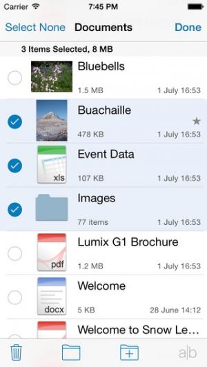 iPhone、iPadアプリ「Files」のスクリーンショット 3枚目