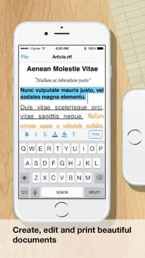 iPhone、iPadアプリ「ドキュメント」のスクリーンショット 2枚目