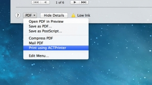 iPhone、iPadアプリ「ACTPrinter - Virtual Printer」のスクリーンショット 5枚目
