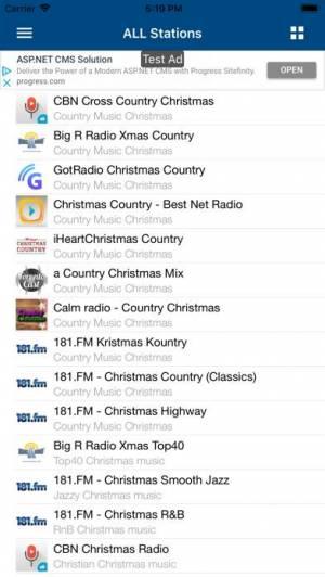 iPhone、iPadアプリ「クリスマス・ラジオ (Christmas Radio)」のスクリーンショット 3枚目
