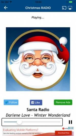 iPhone、iPadアプリ「クリスマス・ラジオ (Christmas Radio)」のスクリーンショット 4枚目