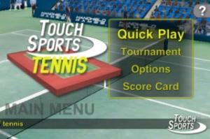 iPhone、iPadアプリ「TouchSports™ Tennis」のスクリーンショット 4枚目