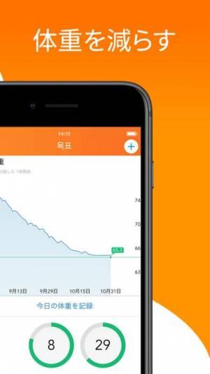 iPhone、iPadアプリ「Lose It! – Calorie Counter」のスクリーンショット 3枚目